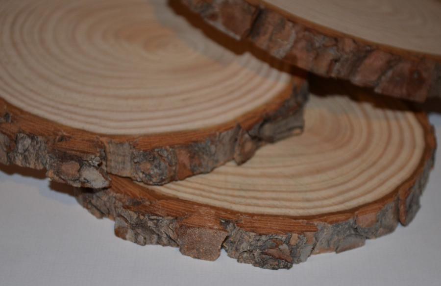 rondelles de bois 15 20 cm secret de barbotine